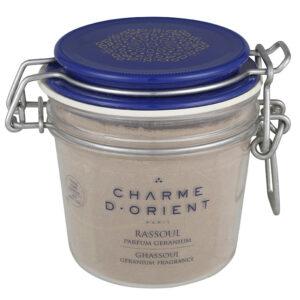 Charme d' Orient - Ghassoul geranium fragrance 250 gr